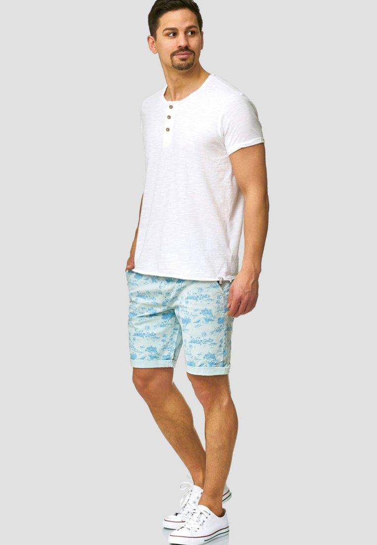 Indicode Jeans Lilestone - Shorts Light Blue