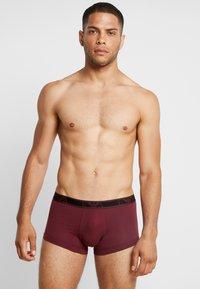 Emporio Armani - 3 PACK TRUNK - Pants - black/grey/purple - 1