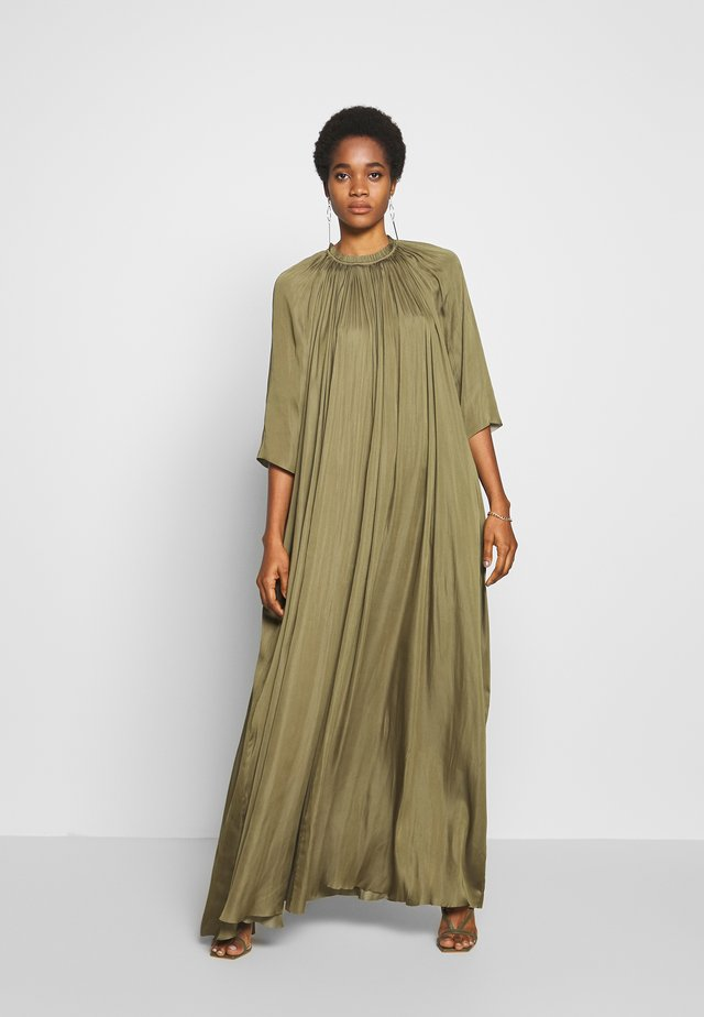 DAY LAKE - Maxi dress - soldier