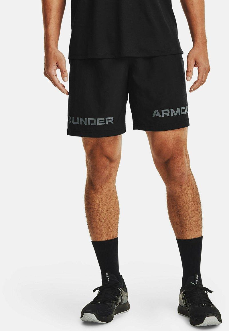 Under Armour - GRAPHIC SHORT - Urheilushortsit - black