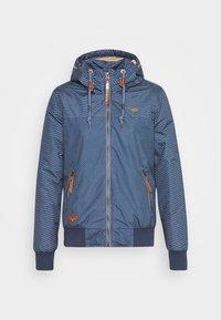 NUGGIE ZIG ZAG - Winter jacket - blue