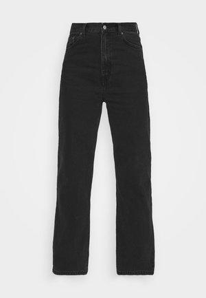 ECHO - Straight leg jeans - concrete black