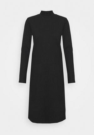 DEVA DRESS - Jersey dress - black