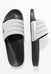 Ellesse - FILIPPO QUILTED - Mules - silver/black - 1