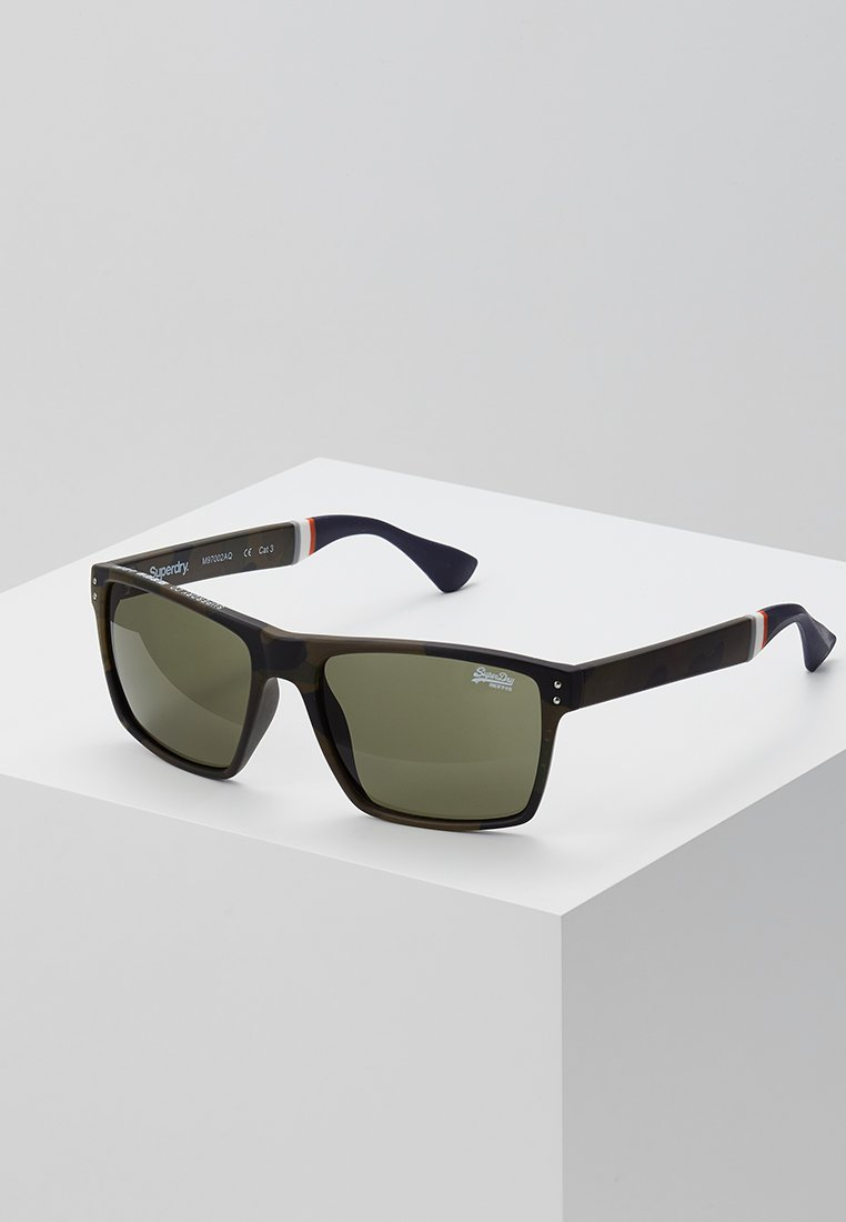 Superdry - YAKIMA - Sunglasses - khaki/black
