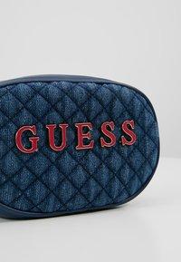 Guess - PASSION XBODY BELT BAG - Bum bag - blue - 7