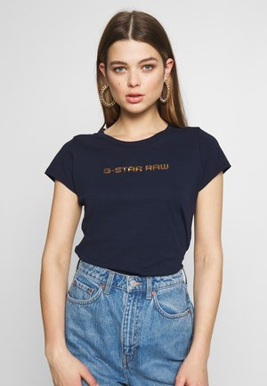 EYBEN SLIM - T-Shirt basic - sartho blue
