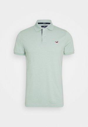 Polo shirt - textural mint