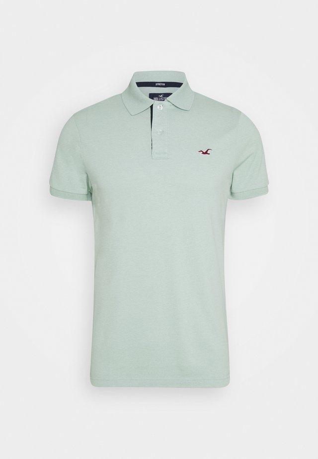 Polo shirt - textural mint