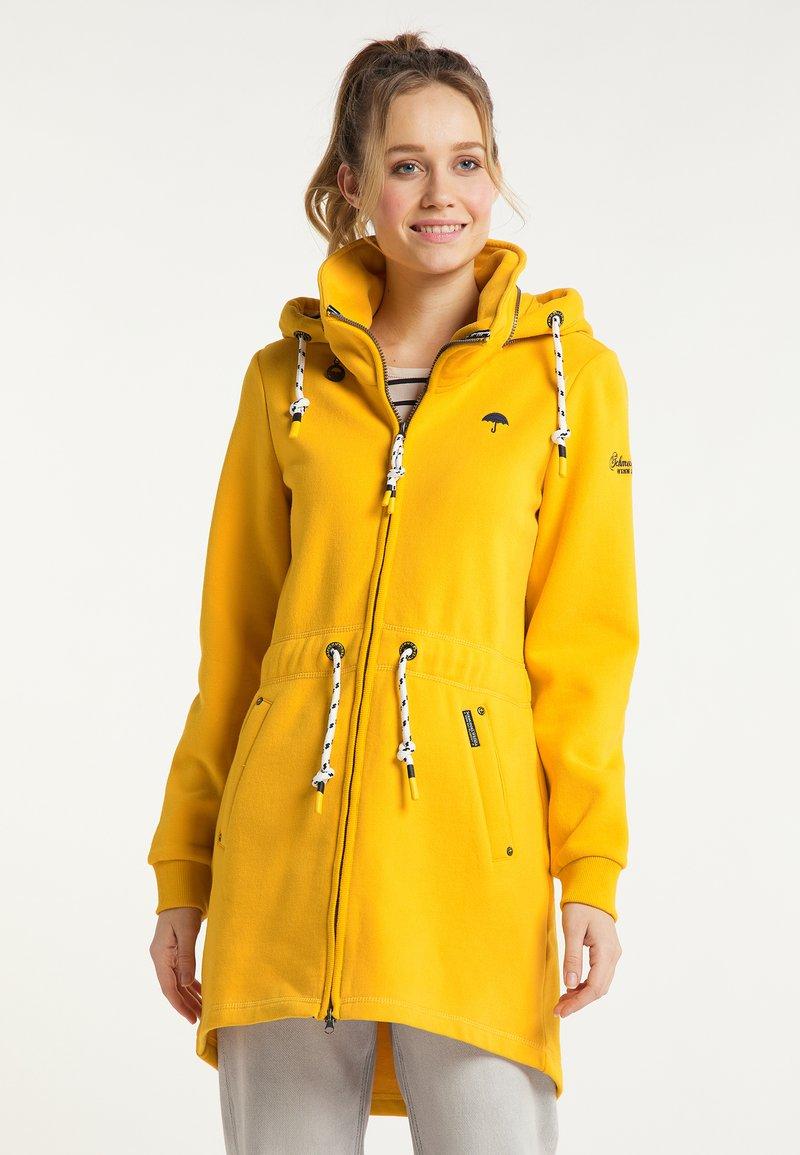 Schmuddelwedda - Zip-up hoodie - senf