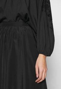 Carin Wester - SKIRT ETOI - Spódnica trapezowa - black - 6