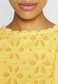 Lace & Beads - RORI DRESS - Day dress - yellow - 5