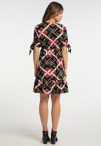 faina - Day dress - schwarz mehrfarbig - 2