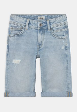 TRACKER  - Szorty jeansowe - denim