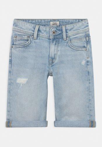 TRACKER  - Denim shorts - denim