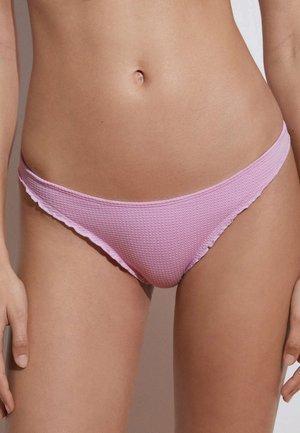 SEAMLESS CURLING BRAZILIAN  - Bikini bottoms - light pink