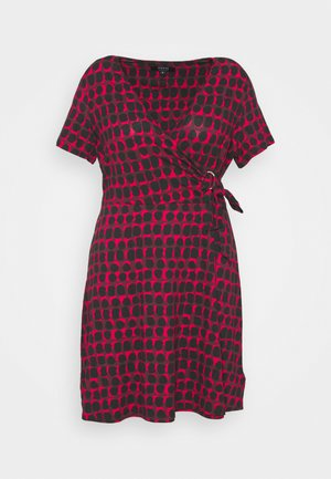 ORING DRESS - Day dress - red