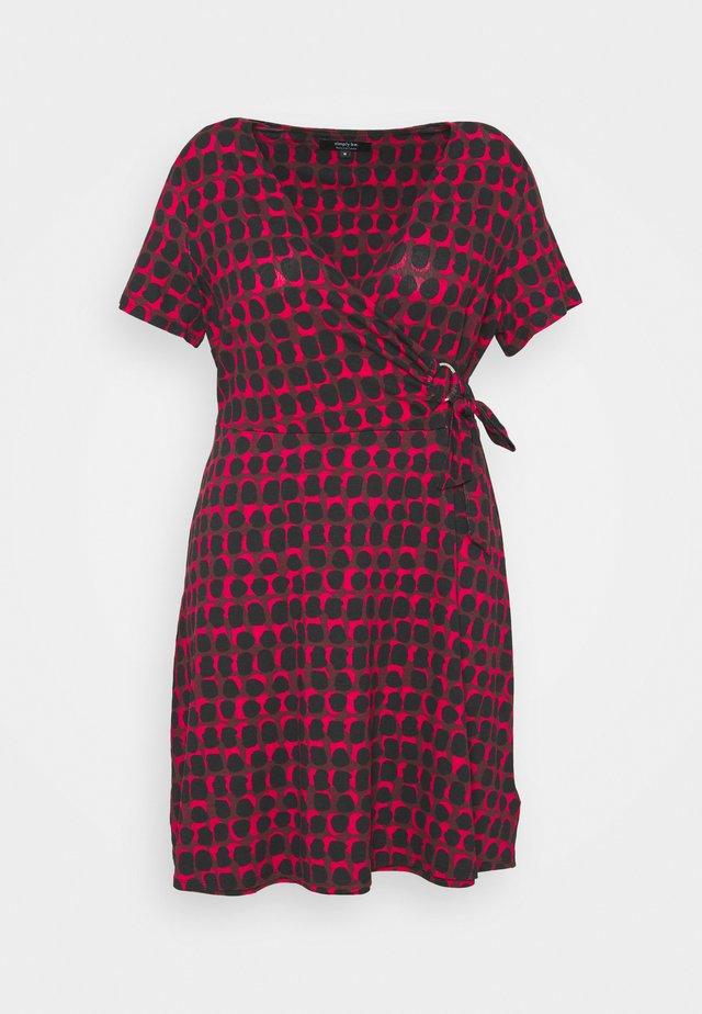 ORING DRESS - Vapaa-ajan mekko - red