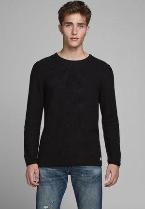 CARLOS NOOS - Stickad tröja - black