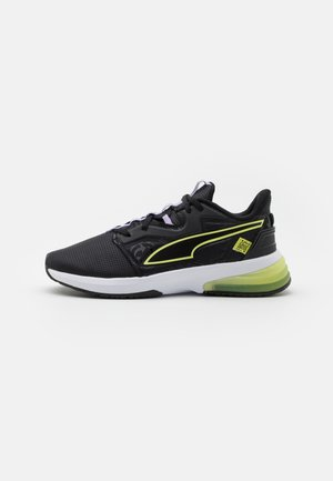 LVL-UP FM - Trainings-/Fitnessschuh - black/soft fluo yellow