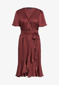 SET - Day dress - terracotta - 6