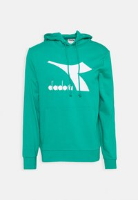 Diadora - HOODIE BIG LOGO - Sweatshirt - green deep - 0