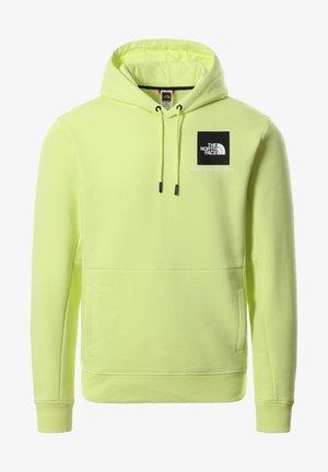 Hoodie - exotic green