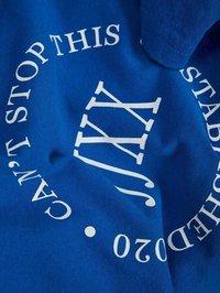 JJXX - T-shirt z nadrukiem - mottled dark blue - 6