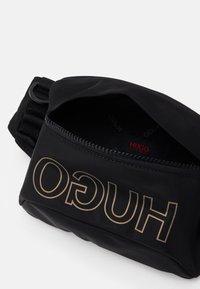 HUGO - WAISTBAG UNISEX - Bum bag - black - 3