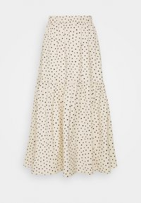 Monki - MANDY SKIRT - Áčková sukně - white dusty light - 1