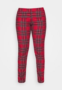 Etam - ODILE PANTALON - Pyjama bottoms - rouge - 3