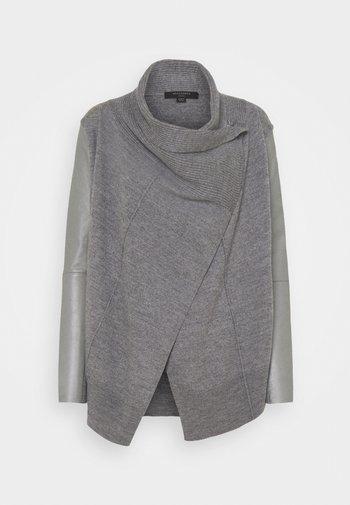 LUCIA CARDIGAN - Cardigan - grey marl