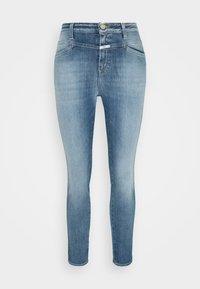 CLOSED - PUSHER - Skinny džíny - mid blue - 4