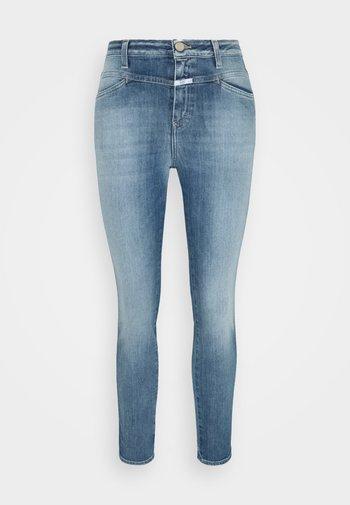 PUSHER - Skinny džíny - mid blue