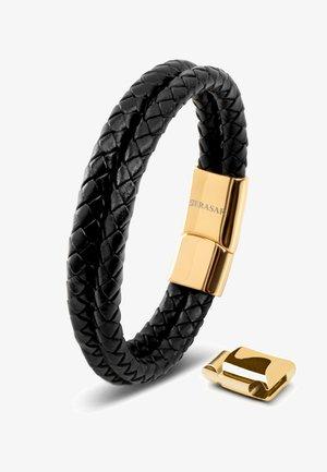 LEDER TWO STRIPES - Bracelet - gold