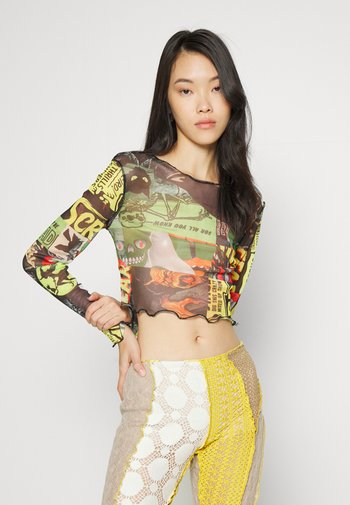 HALLOWEEN COLLAGE - Long sleeved top - multi