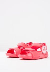 adidas Performance - ALTASWIM - Pool slides - core pink/white - 2