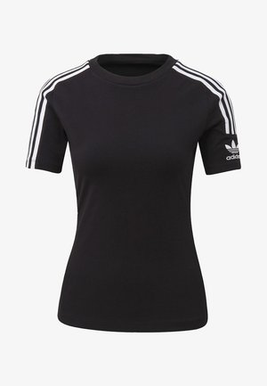 TIGHT T-SHIRT - T-shirt z nadrukiem - black