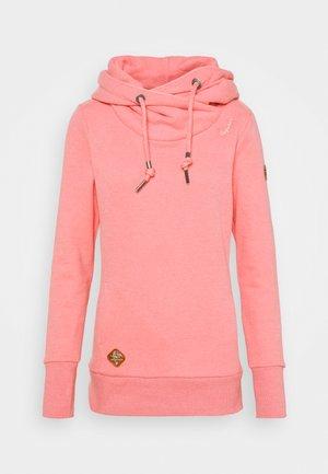 GRIPY BOLD - Mikina skapucí - pink