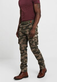 INDICODE JEANS - WILLIAM - Cargo trousers - dired - 0