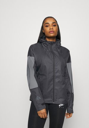 RUN - Sports jacket - black/reflect black
