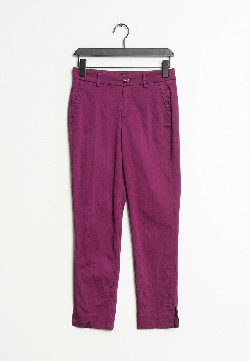 Massimo Dutti - Trousers - purple