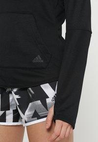 adidas Performance - HOODIE - Hoodie - black - 3