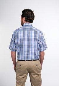 Eterna - COMFORT FIT - Shirt - beige/blau - 1