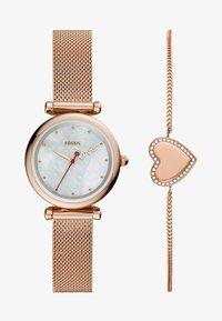 Fossil - CARLIE MINI SET - Horloge - rose gold-coloured - 0