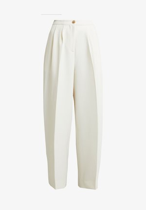 ZAL TROUSERS - Trousers - white asparagus