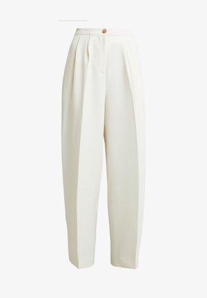 ZAL TROUSERS - Kalhoty - white asparagus