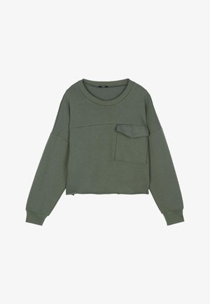 Sweatshirt - light military