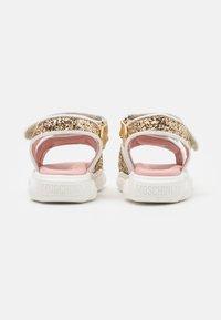 MOSCHINO - Sandals - gold - 2
