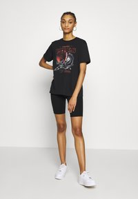 Even&Odd - CLARE COSMIC  - T-shirt imprimé - black - 1